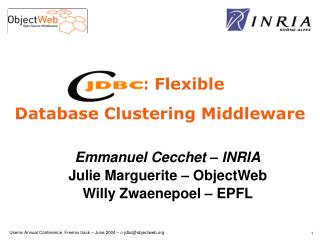 : Flexible Database Clustering Middleware