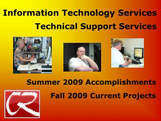 Information Technology Services Technical Support Services
