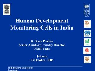 Human Development Monitoring Cells in India