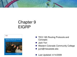 Chapter 9 EIGRP