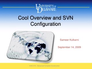 Cool Overview and SVN Configuration