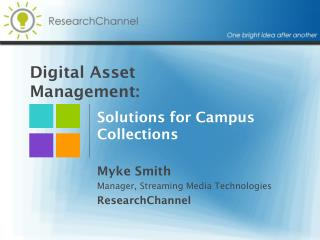 Digital Asset Management: