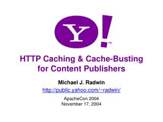 HTTP Caching & Cache-Busting for Content Publishers