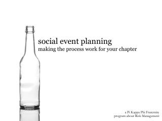 social event planning making the process work for your chapter