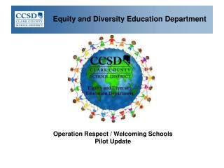 Equity and Diversity Education Department