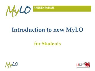 Introduction to new MyLO