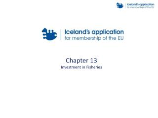 Chapter 13 Investment in Fisheries