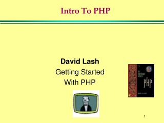 Intro To PHP