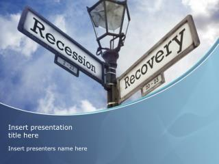 Financial Recovery Powerpoint Template