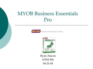 MYOB Business Essentials  Pro