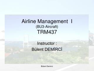 Airline Management  I