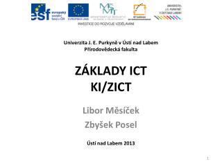Základy ICT KI/ZICT