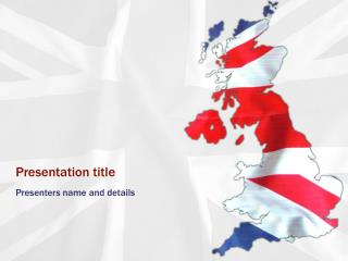 Union Jack UK Powerpoint Template