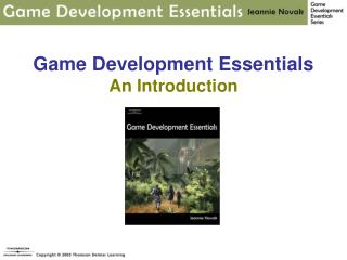 Game Development Essentials  An Introduction