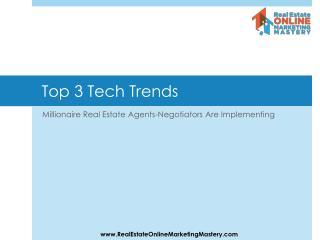 Top 3 Tech Trends