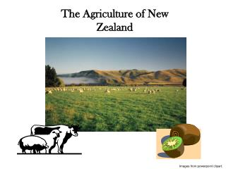 The Agriculture of New Zealand