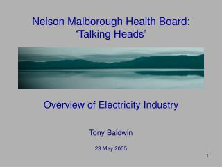Nelson Malborough Health Board: 'Talking Heads'