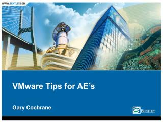 VMware Tips for AE's
