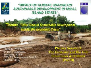 """Impact of Climate Change on Sustainable Development in Small Island States"""