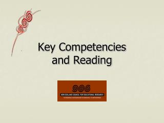 Key Competencies and Reading
