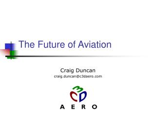 The Future of Aviation