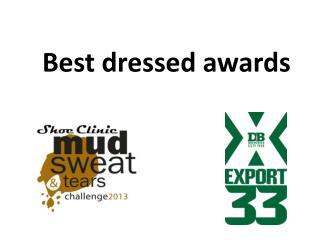 Best dressed awards