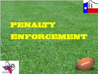PENALTY ENFORCEMENT