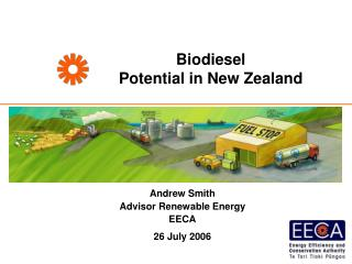 Biodiesel  Potential in New Zealand