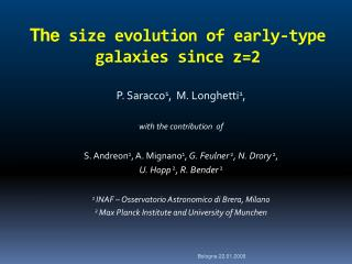 The size evolution of early-type galaxies since  z=2