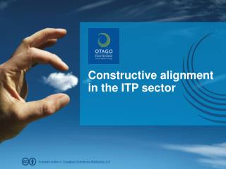 Constructive alignment in the ITP sector