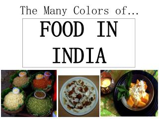 The Many Colors of …