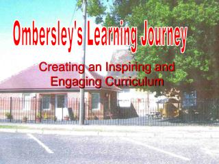 Creating an Inspiring and Engaging Curriculum
