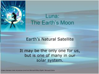 Luna: The Earth's Moon