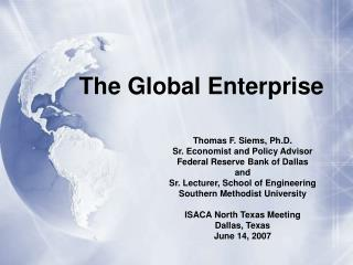 The Global Enterprise