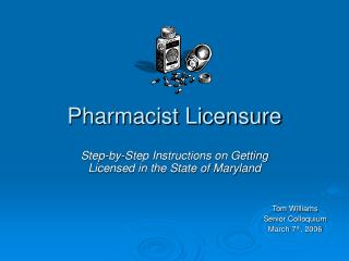 Pharmacist Licensure