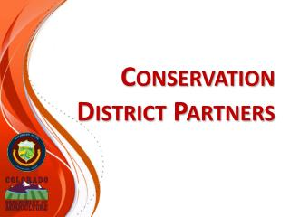 Conservation District Partners