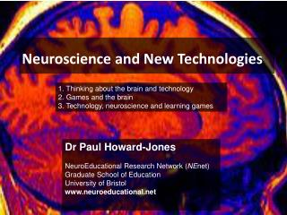 Neuroscience and New Technologies
