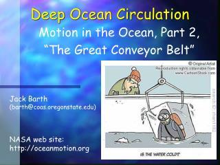 Deep Ocean Circulation
