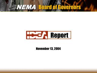 NEMA Board of Governors