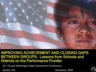 22 nd  Annual Washington State Assessment Conference