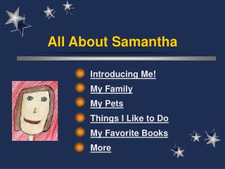 All About Samantha
