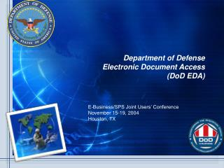 Department of Defense Electronic Document Access (DoD EDA)