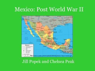Mexico: Post World War II