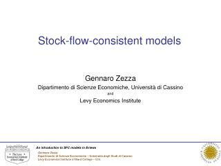 Stock-flow-consistent models