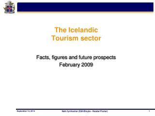 The Icelandic  Tourism sector