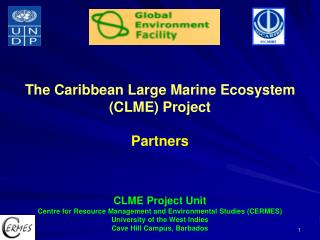 The Caribbean Large Marine Ecosystem (CLME) Project Partners