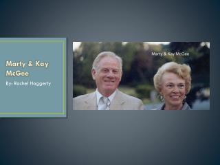 Marty & Kay McGee