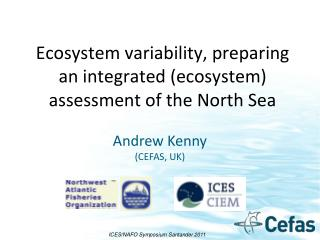 Ecosystem variability, preparing an integrated (ecosystem) assessment of the North Sea