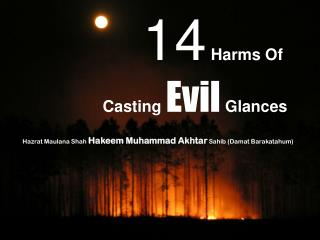 14  Harms Of  Casting  Evil  Glances