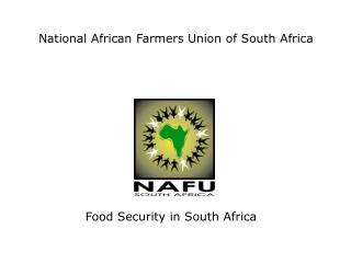 National African Farmers Union of South Africa